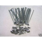 KIT FOR FRONT WHEEL SPOKES AND NIPLES HONDA CROSS 21 ""